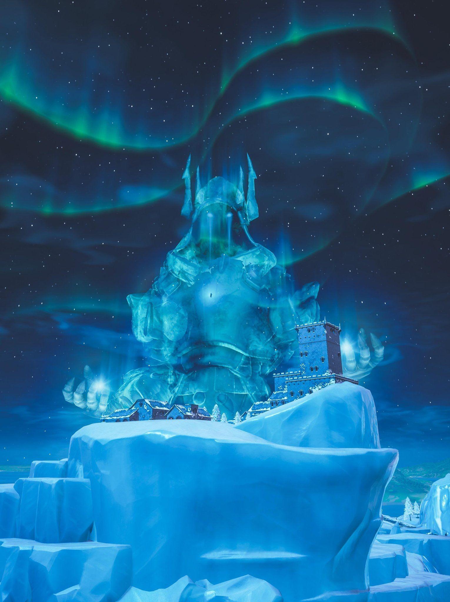 Ice King Fortnite Wallpaper