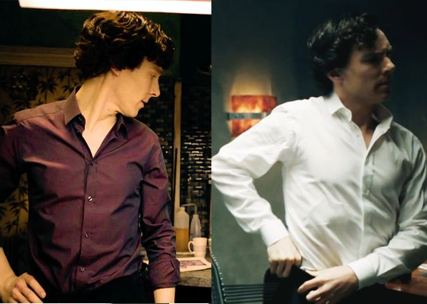 """""""{Look at how much Benedict has bulked up though} - I'm looking I'm looking"""""""