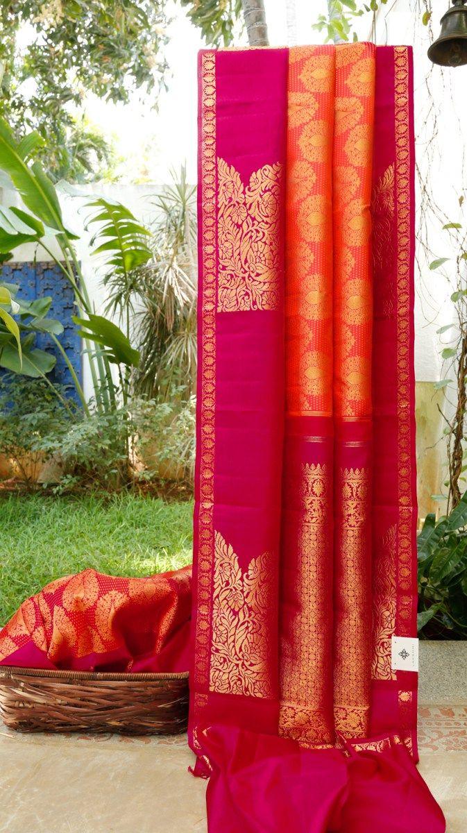 Pure silk saree 2018 kanchivaram silk l in   fav  pinterest  silk saree and