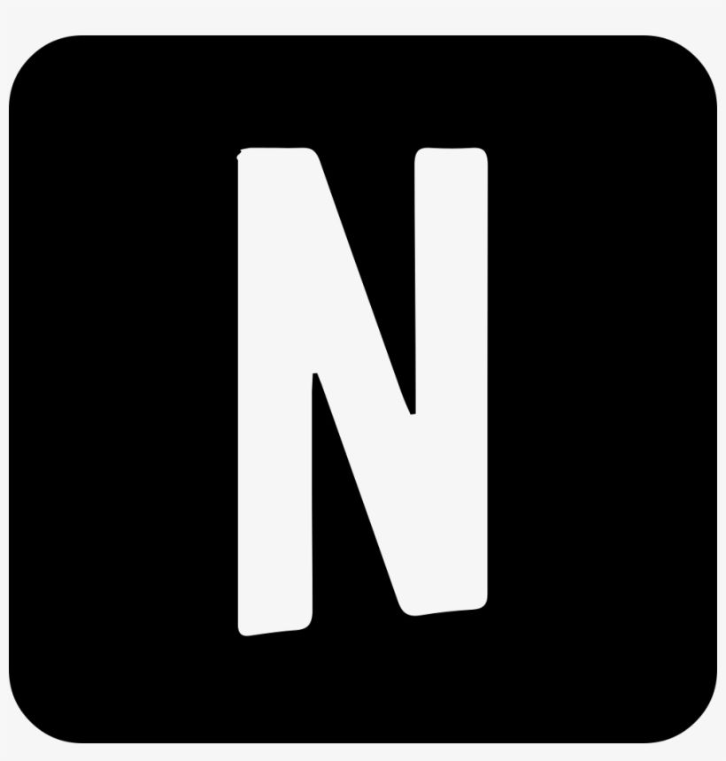 Download Netflix Comments Netflix Icon Png Black Png Image For Free The 980x980 Transparent Png Image Is Popular And Ple Black App Iphone Photo App App Icon