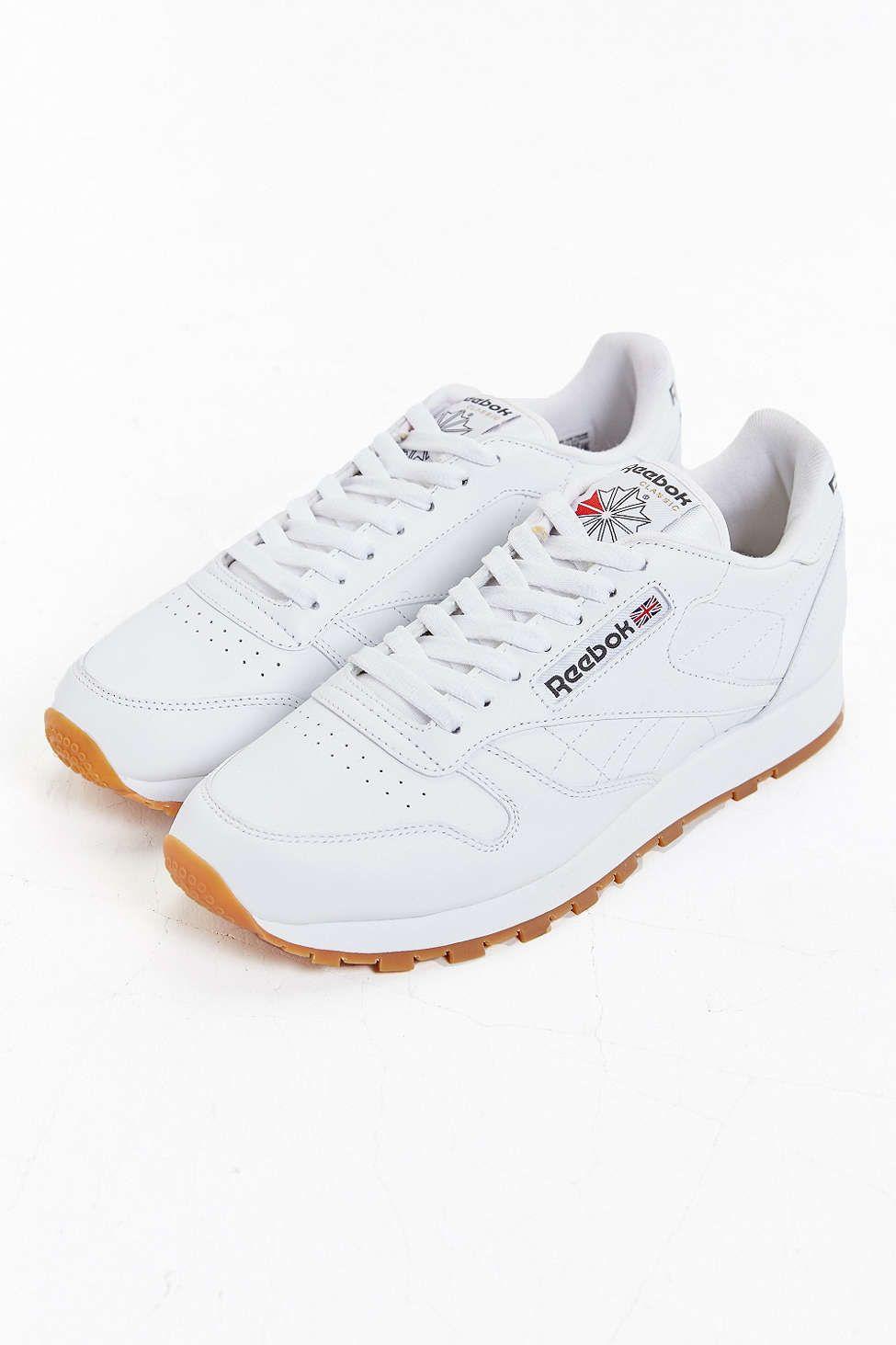 reebok classic gum sole sneaker