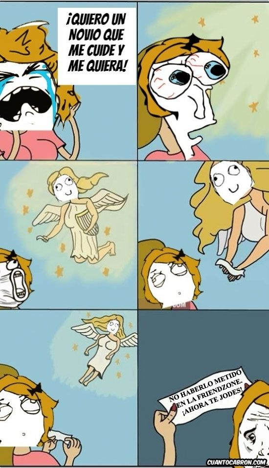 Algunas chicas siguen sin entenderlo...