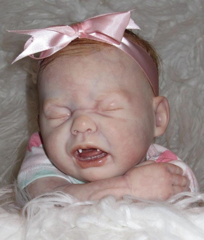 Reborn Ooak Crying Vampire Baby Bella Babies