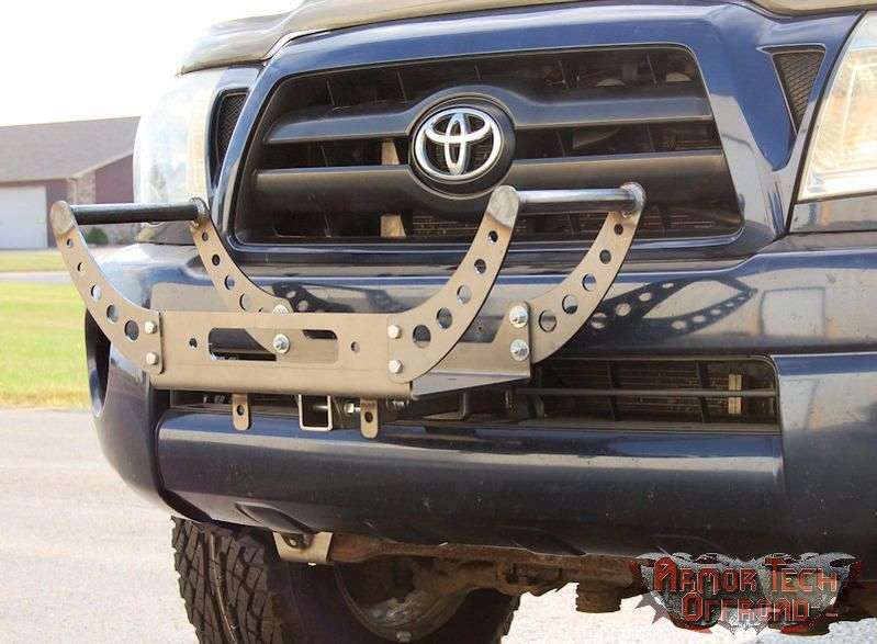 Gen 2 Tacoma Front Hitch Receiver And Portable Winch Tray