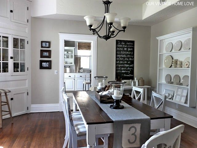No Floor Space For A Buffet In The Dining Room But Maybe A Wall Brilliant House With No Dining Room Inspiration