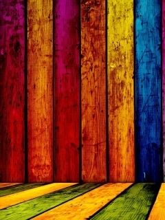 Multicolor Wood Wallpaper For Htc Phones As Htc Desire One X Etc Painting Wallpaper Colorful Wallpaper Htc Wallpaper