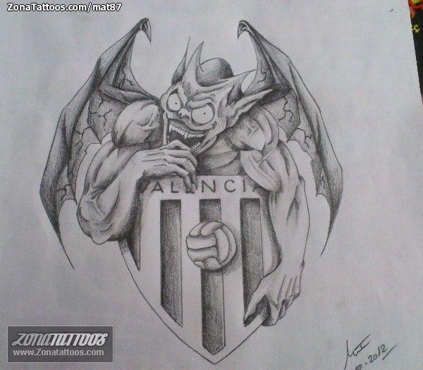Diseño De Escudos Fútbol Monstruos Zonatattoos Com Tatuaje Escudo Fotos De Equipo Escudo