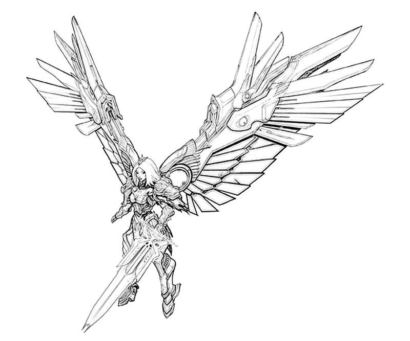 Be sure to print of the dark angel coloring pages with for Dark angel coloring pages