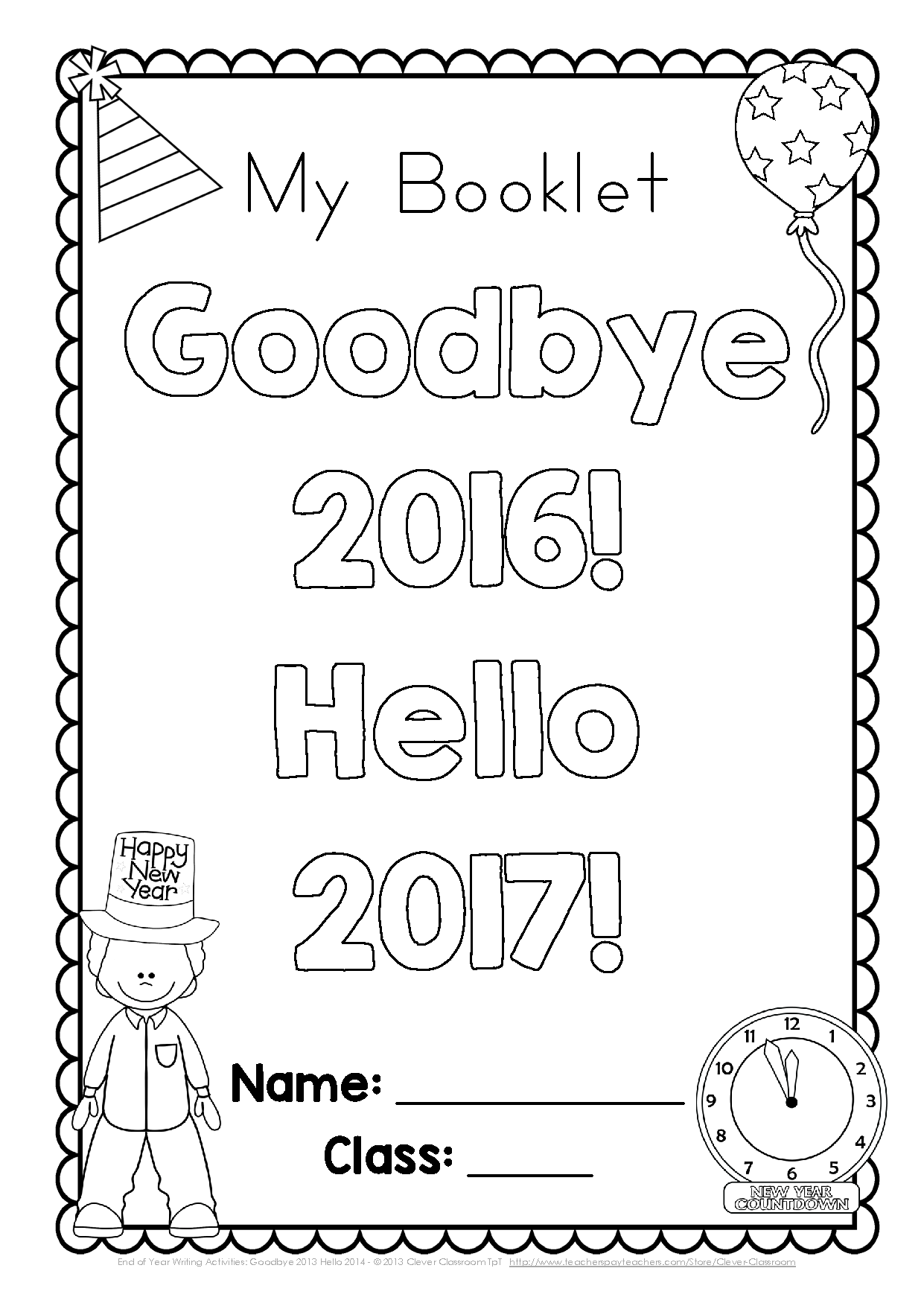 Happy New Year A Great Way To Help Students Remember The