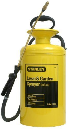 Stanley Lawn And Garden Deluxe Steel 2 Gallon Sprayer 74020 By Stanley 39 99 Brass Wands Poly Brass Extension W S Lawn And Garden Sprayers Low Flow Shower