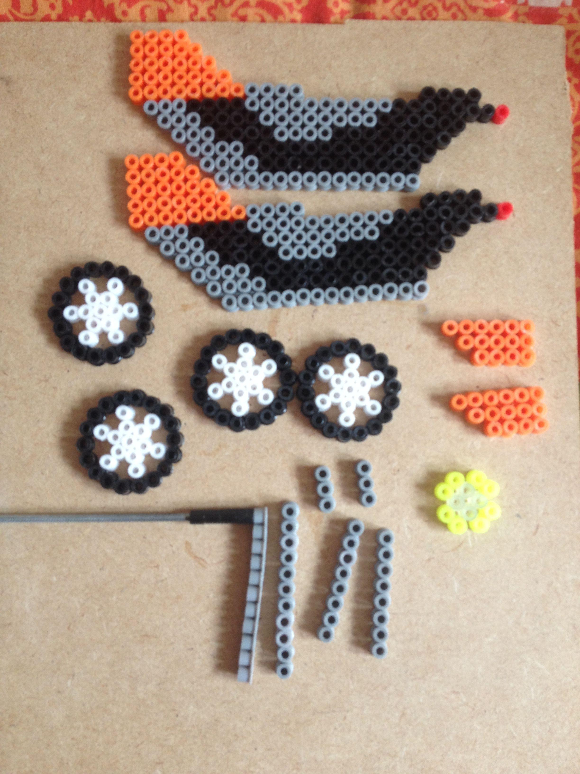 plantilla de la moto de trial perles hama pinterest perles hama hama et perles repasser. Black Bedroom Furniture Sets. Home Design Ideas
