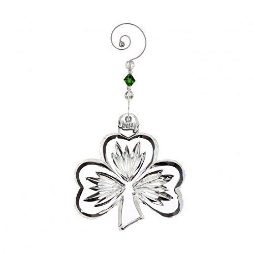 Waterford Crystal 2014 Annual Shamrock Ornament -- You can get additional details at the image link.