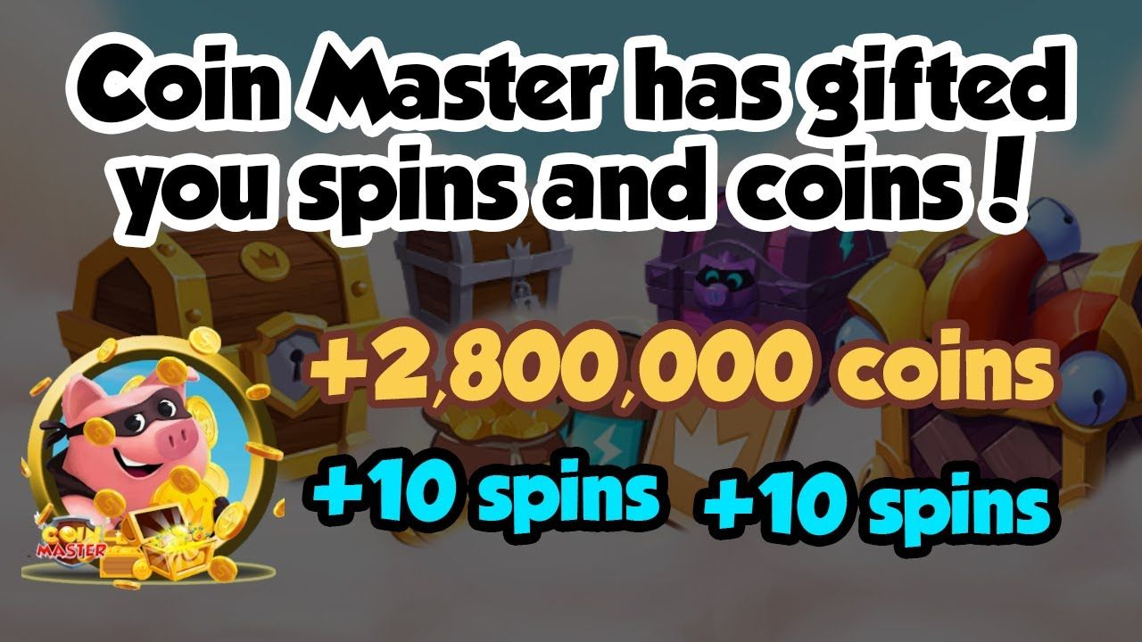 Coin Master Free Spin and Coin Links for 02 Nov 2019