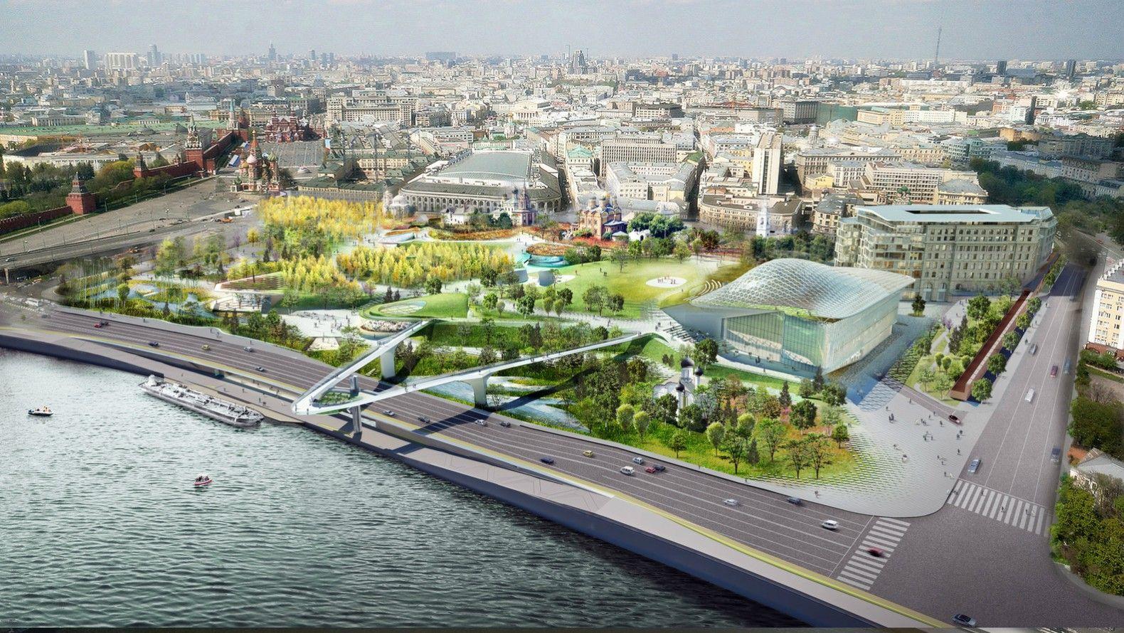 New 35 Acre Public Park Brings Wild Urbanism To Moscow World Architecture Festival Landscape Architecture Design Urban Planning