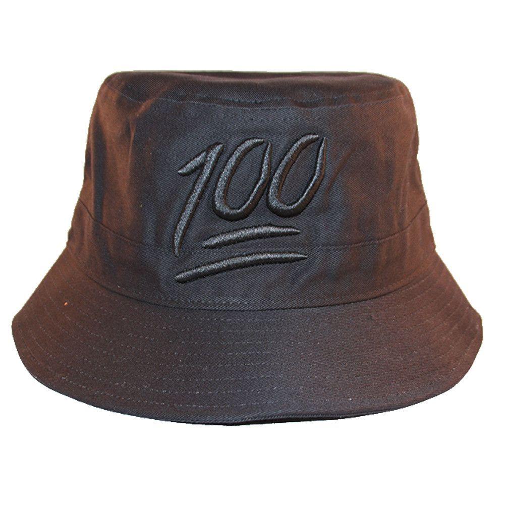 Loyal Cloth 100 Emoji Keep It Bucket Hat