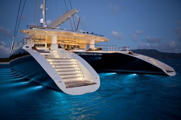 Katamaran segeln luxus  World's Largest Sailing Catamaran | Segeln, Katamaran und Yachten