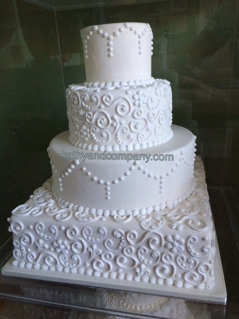 Pin Von Kathy And Company Auf Contemporary Wedding Cakes Pinterest