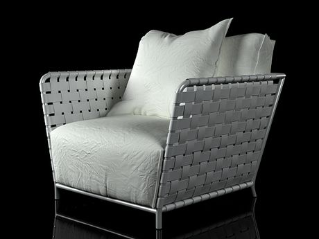 Gervasoni InOut 801FW armchair 3d model | Paola Navone