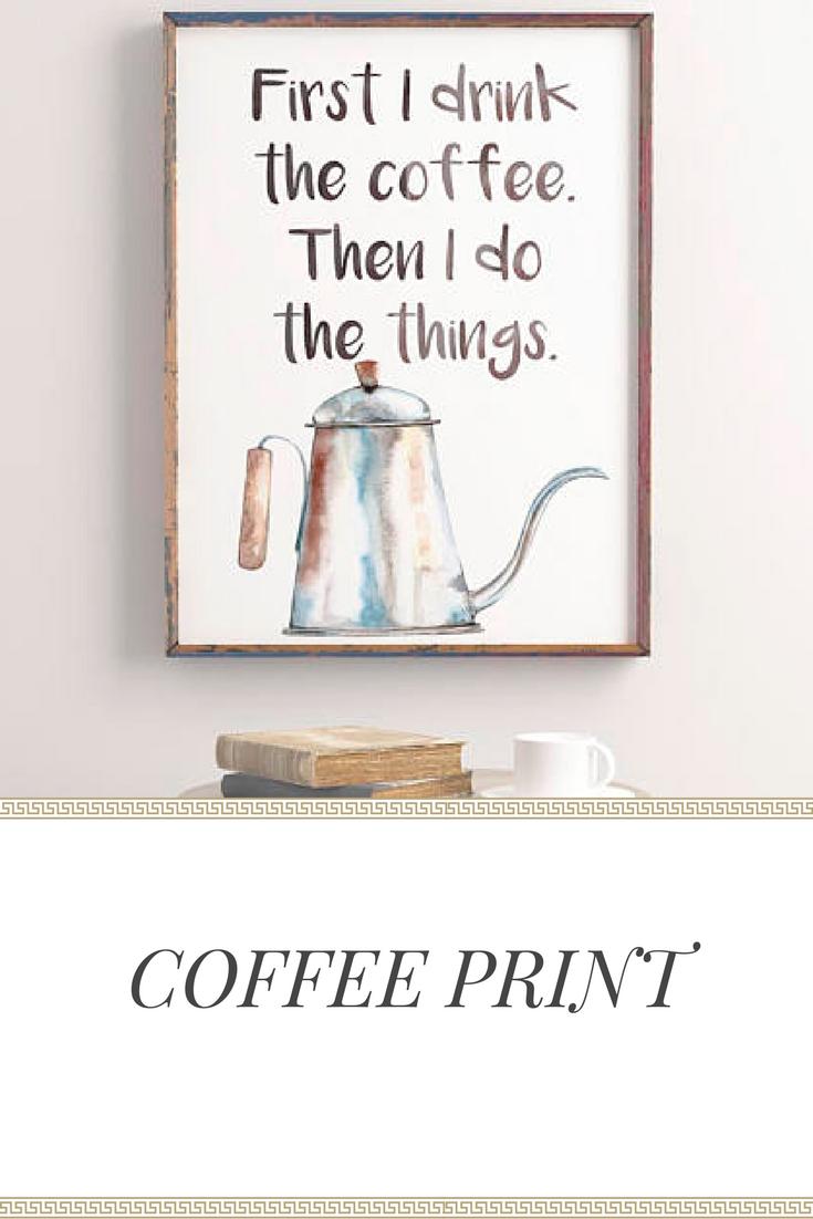 Kitchen print kitchen decor kitchen wall art printable art