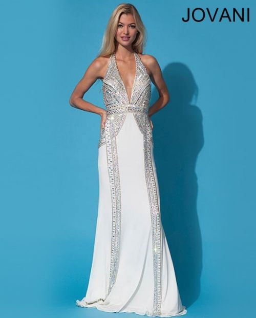 Jovani 88145 white | Homecoming Prom | Pinterest | Prom dresses ...