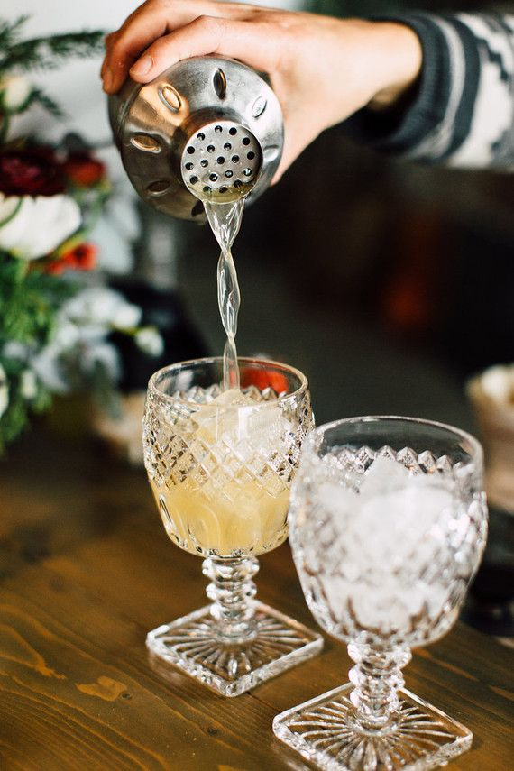 Wonderful Winter Cocktail Party Ideas Part - 8: Rent Or Invest In Pretty Glassware For Your Cocktail Party