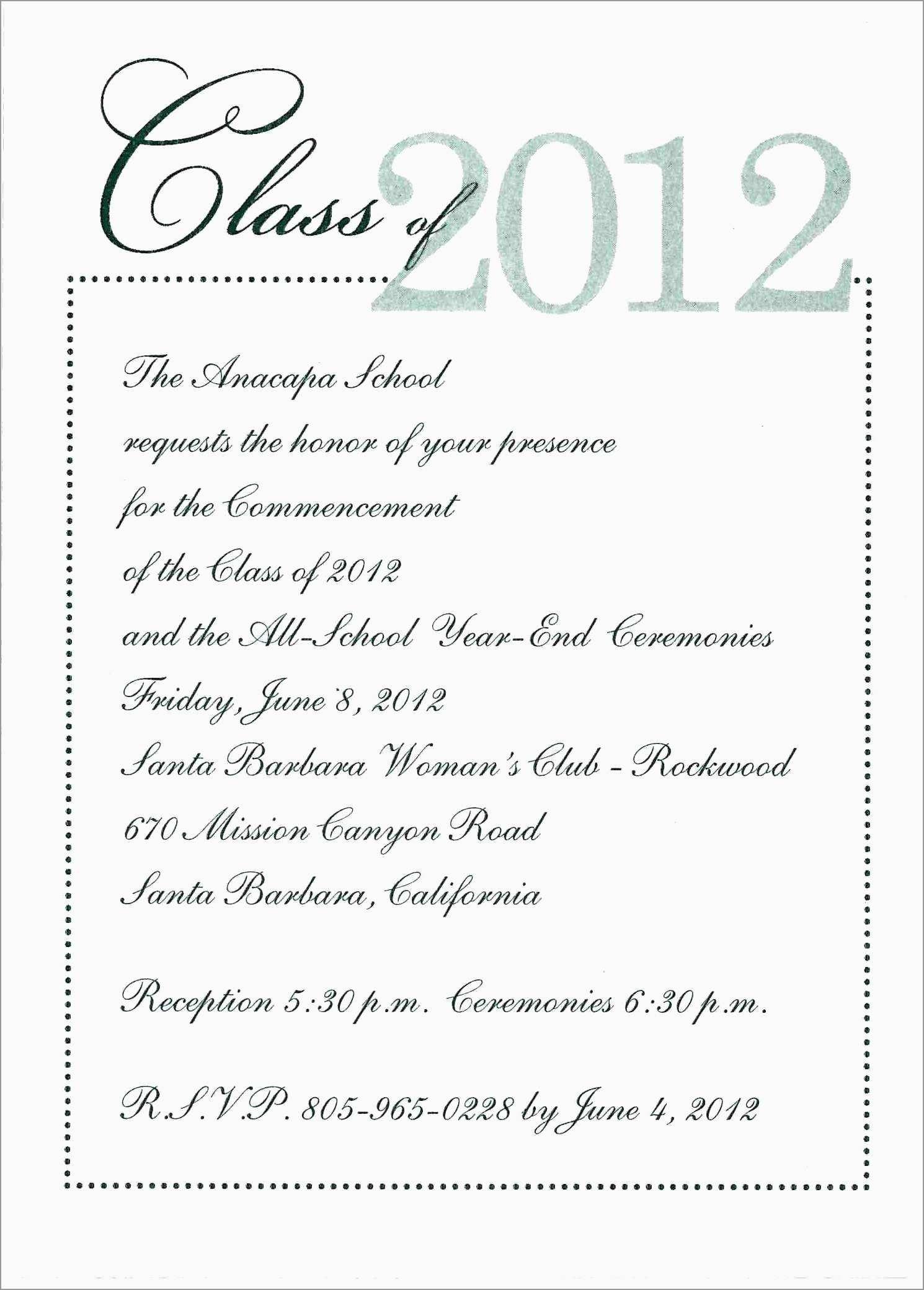 Nurse Graduation Invitation Template