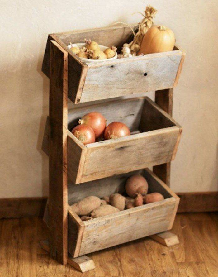 DIY | Recycle a Deco Wooden Crate in 40 Ideas - Archzine.fr