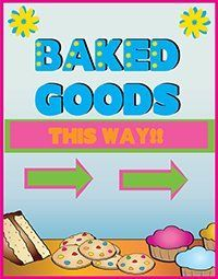 Make a Bake Sale Poster | Business Poster Ideas #bakesaleideas