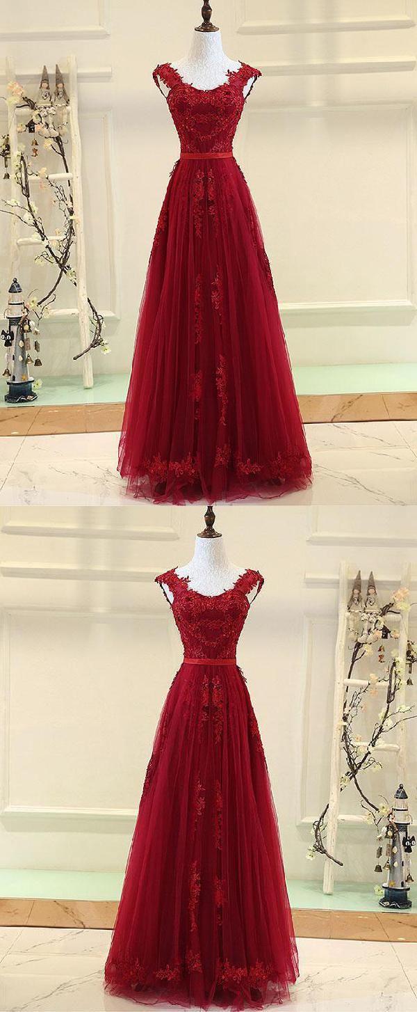Prom dresses long burgundy prom dresses luu prom dresses
