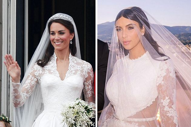 8 Celebrity Wedding Hairstyles For Brides With Long Hair Celebrity Wedding Hair Bride Hairstyles Hair Styles