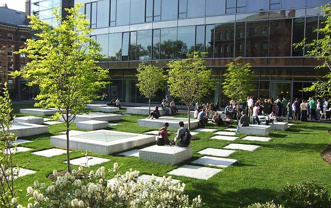 Northwest laboratory courtyard the landscape architect s for Garden design university