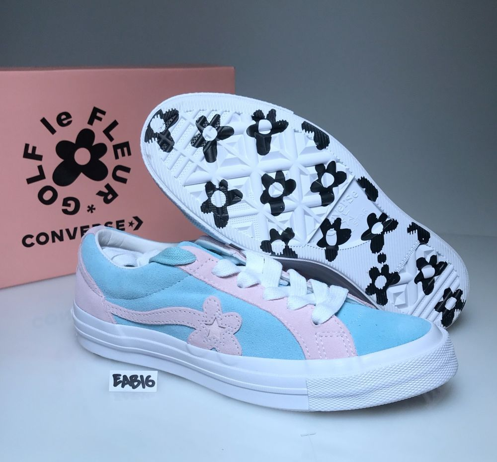 72bc5137bbaed5 CONVERSE ONE STAR X GOLF LE FLEUR Plume Pink Marshmallow Blue Tyler ...
