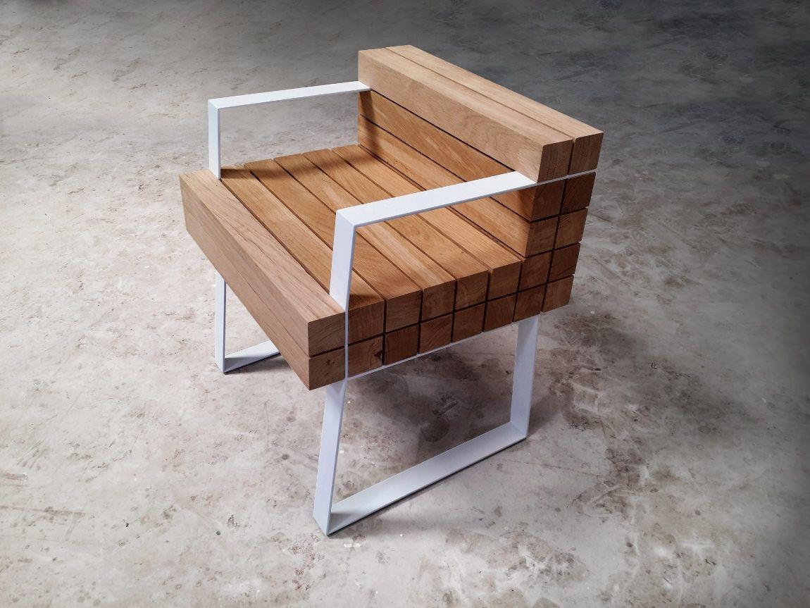 Chaiss Petit Fauteuil Par Sébastien Mazzoni Woods Woodwork And - Petit fauteuil en bois
