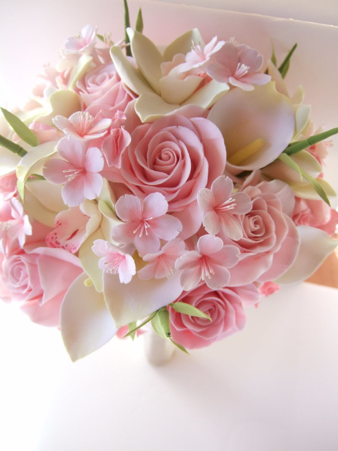 Cherry Blossom Bouquet | Wedding | Pinterest | Cherry blossom ...