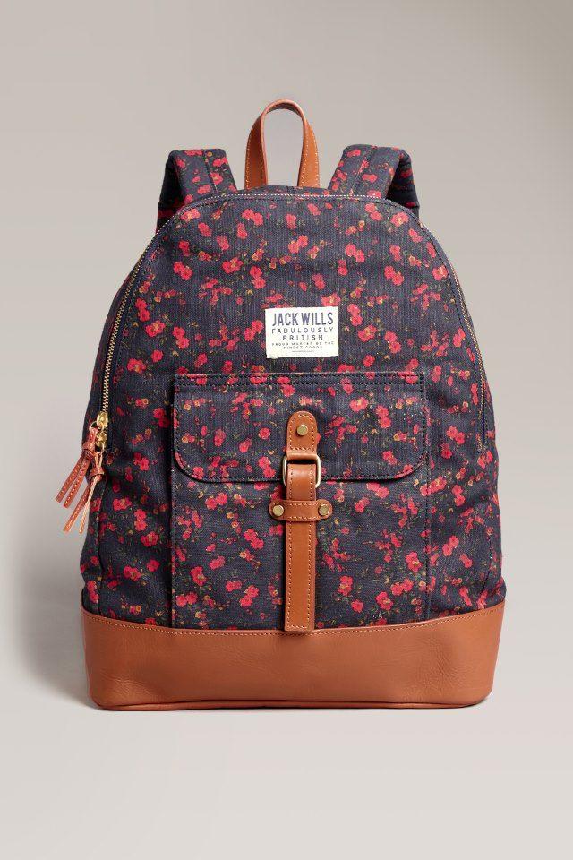 9f289ab4c101 The Earnshaw Backpack | Jack Wills My dream bagback!! | Book bags in ...