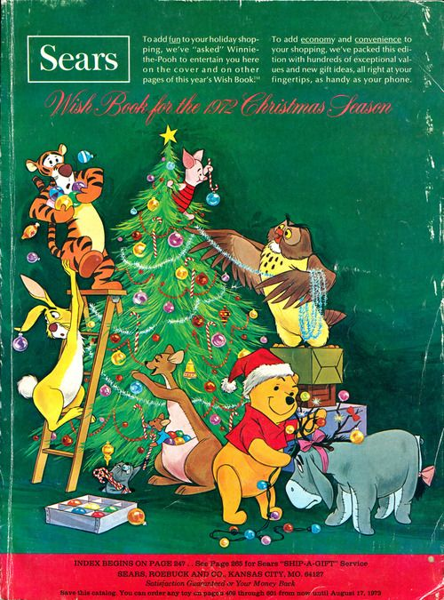 Cover Of The Sears Christmas Wish Book 1972 Christmas Wishes Christmas Catalogs Disney Christmas