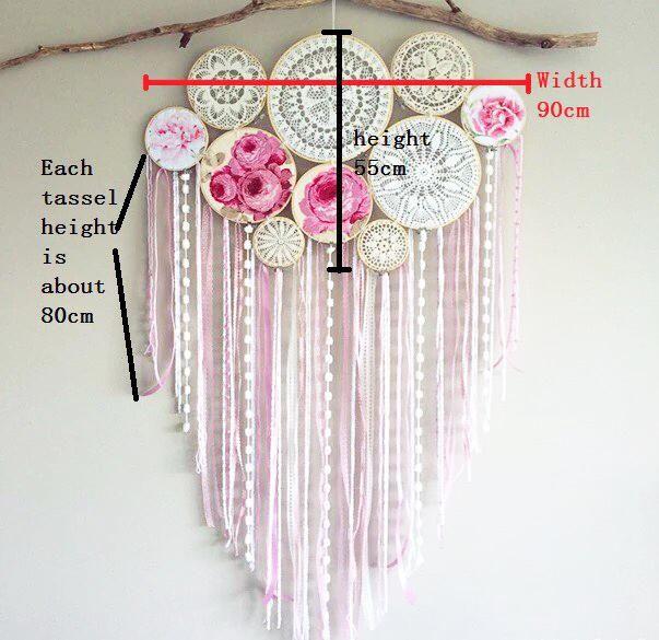 Boho Crochet Mandala Dream Catcher *FREE DELIVERY*