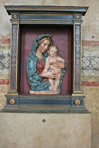 Madonna con bambino della bottega di jacopo della quercia for Quarto quinto
