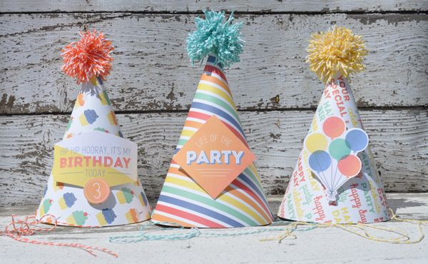 Party Hats by Aimee Maddern 1 Projects Pinterest - party hat template