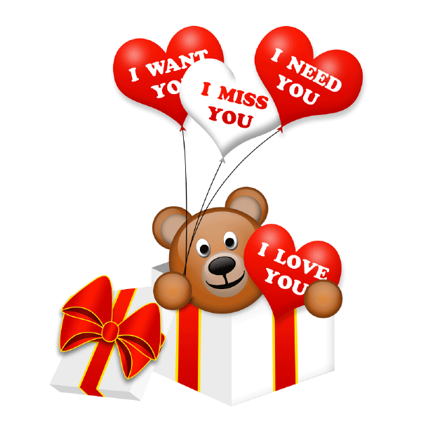 teddy bear balloons balloons love messages love my wife quotes teddy bear balloons balloons love