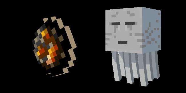 Minecraft Fireball And Ghast In 2020 Minecraft Fireball Custom