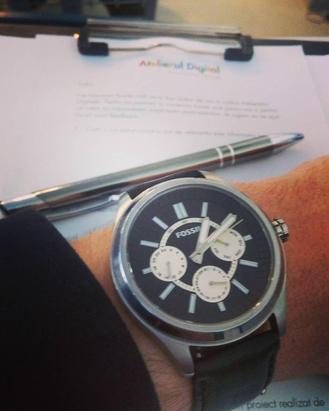 Saturday @ Uni #Google #atelieruldigital #seo #marketing #fossil #watchlover #learning by stefan.nicu