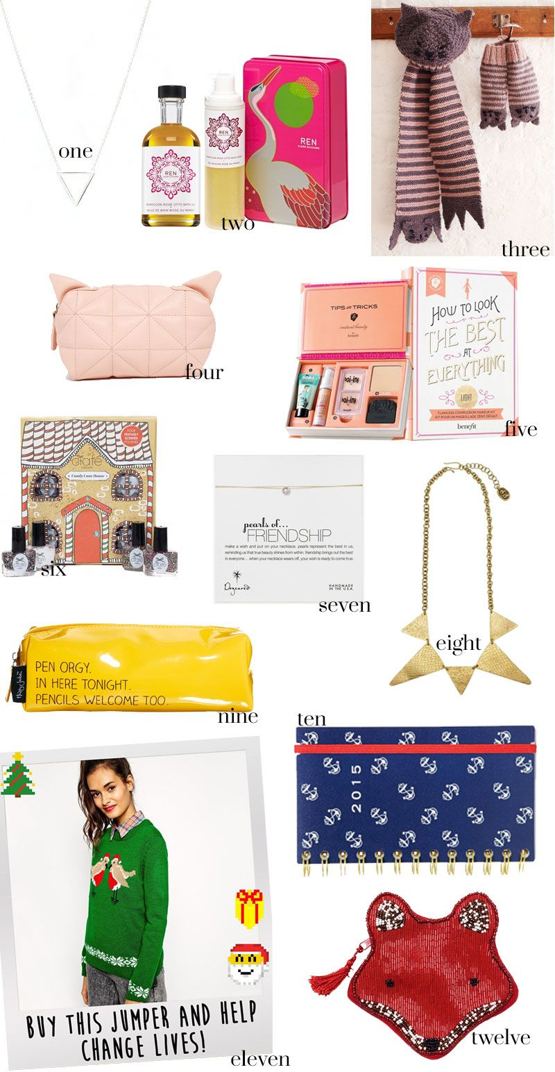 Christmas gift ideas for the most important woman in your life: your bestie. {WHAT PIXIES WEAR – Fashion Blog}