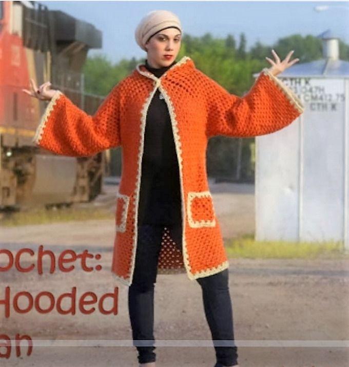 20 Crochet Sweater / Cardigan DIY Video Tutorials | Attention ...