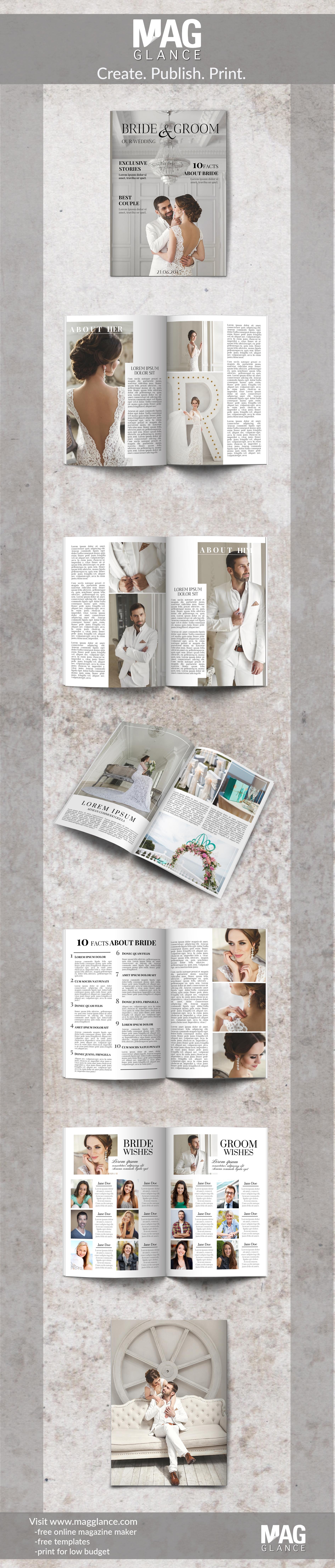 Crea gratis tu periódico de boda online e imprímelo a buen precio ...