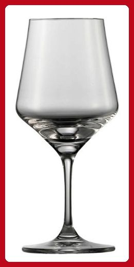 Schott Zwiesel Tritan Crystal Glass Aromes Stemware Wine Tasting Glass 10 1 2 Ounce Set Of 6 Improve Your Hom Red Wine Glasses Wine Glasses Drinking Design Schott zwiesel tritan crystal glass