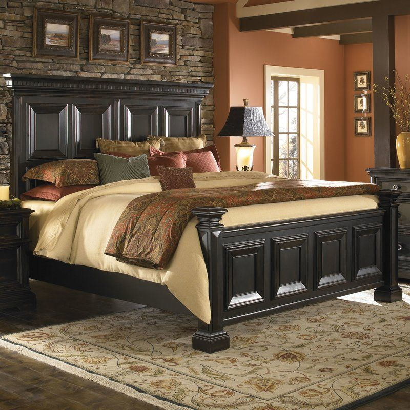 Darby Home Co Barnys Panel Bed  Reviews Wayfair FURNITURE LIKE