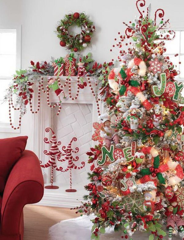 Candy Cane Decorations Pinterest Neat Tiny Candy Cane Trees In The Background  Christmas