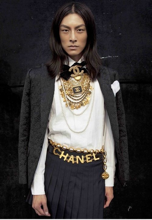 the epitome of androgyny // David Chiang for Chanel
