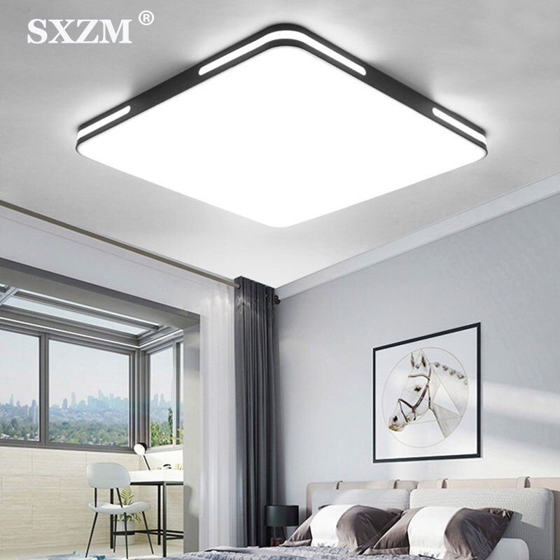 Modern Ceiling Lighting Led Simple Style Light Fixtures For Study Dining Room Bedroom Living Roo In 2020 Modern Ceiling Light Ceiling Lights Living Room Modern Ceiling